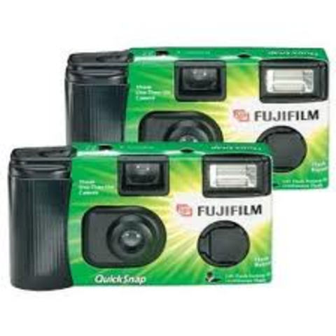 Fujifilm introduces the first generation of disposable cameras