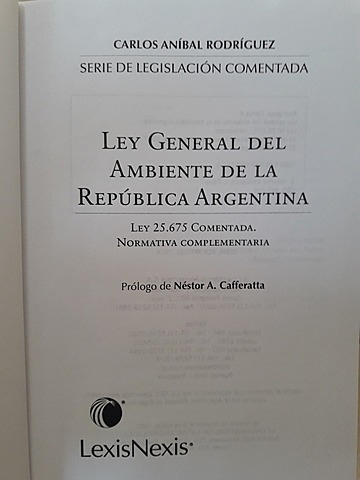 LEY GENERAL DEL AMBIENTE Nº 25675
