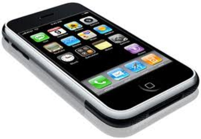 The Iphone was released to the public in the U.S
