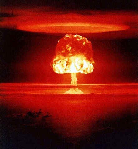 First atomic bomb test by the Soviets