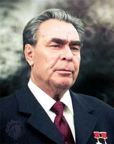Within the 1970s, Leonid Brezhnev leads the Soviet Union