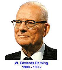 William Deming (1900 -1993)