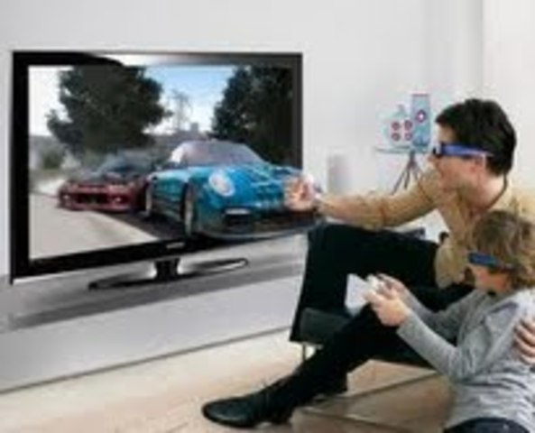 3-D video game