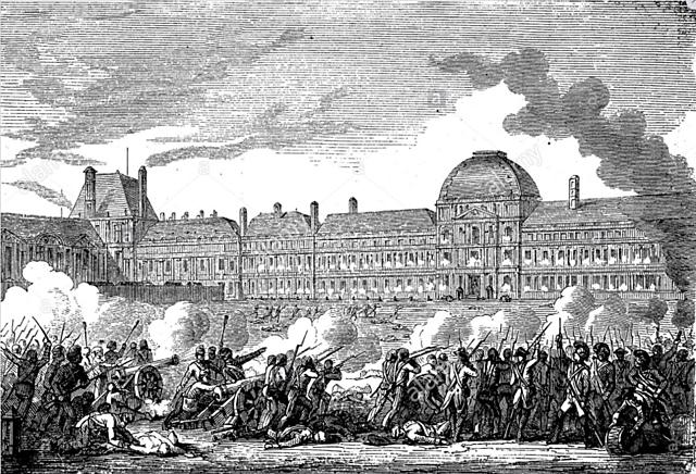 Assalto al palazzo delle Tuileries