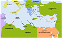 Italy invades and takes over Libya