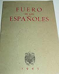 Fueros de los Españoles