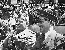 Italy enters WW II on side of Germany