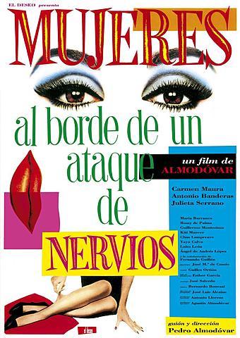 Mujeres al borde de un ataque de nervios | Pedro Almodovar