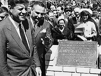 Visita del Presidente de los Estados Unidos John F Kennedy