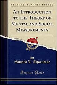 Thorndike's quantitative methods