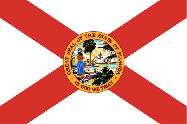 Florida secedes from the Union