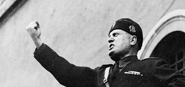 Mussolini kicked out of Socialist Party for pro-nationalistic sentiments regarding WWI