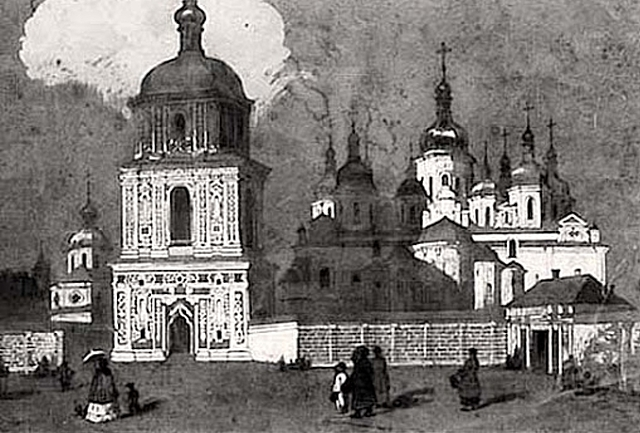 Sofiivskiy Cathedral for the first time