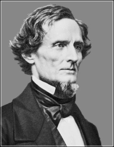 Jefferson Davis' inauguration