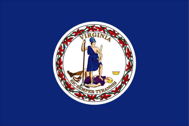 Virginia secedes from the Union