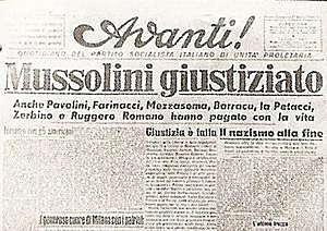 Mussolini begins work as editor for the Socialist Party newspaper Avanti