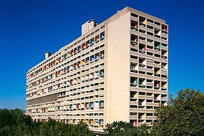 Unité d´habitation, Le Corbusier