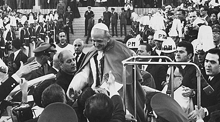 Llegada del Papa Pablo vi a Colombia