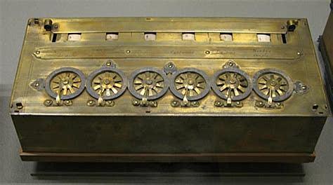 la máquina de Blaise Pascal