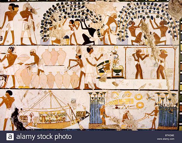 1450 a.C. INSPECTORES EGIPCIOS GRABADOS EN PIEDRA