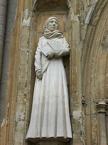 The Statue of Julian of Norwich