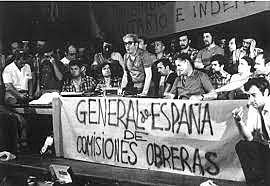 Fundación de comisiones obreras