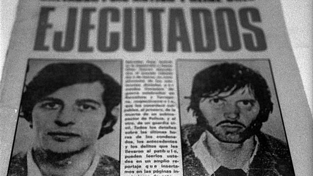 Ejecución del anarquista Puig Antich