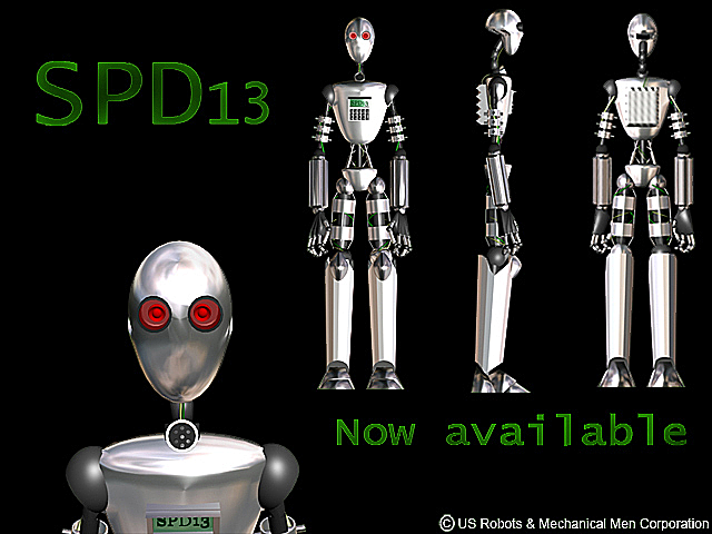 Robot robbie SPD-13