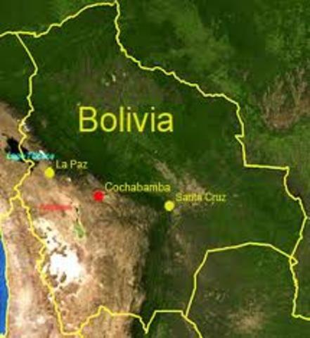 Bolivia Confederation 1836-39