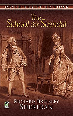 Richard Brinsley Sheridan's second play, The School for Scandal, is an immediate success in London's Drury Lane theatre