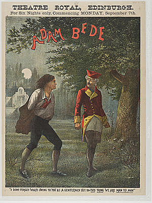 English author George Eliot wins fame with her first full-length novel, Adam Bede