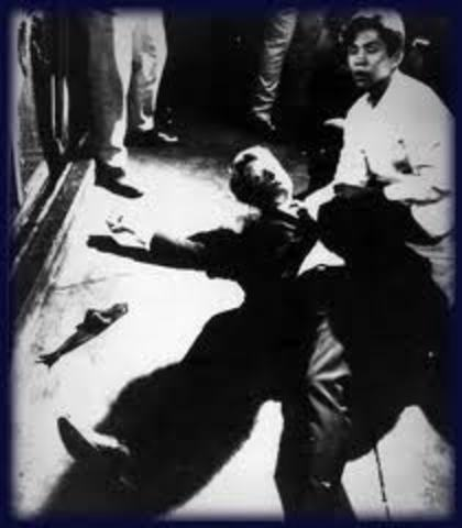 Robert F. Kennedy is assassinated