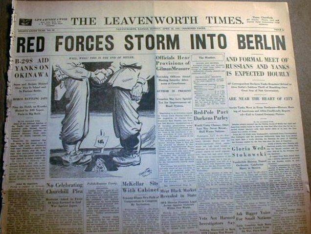 The capture of Berlin