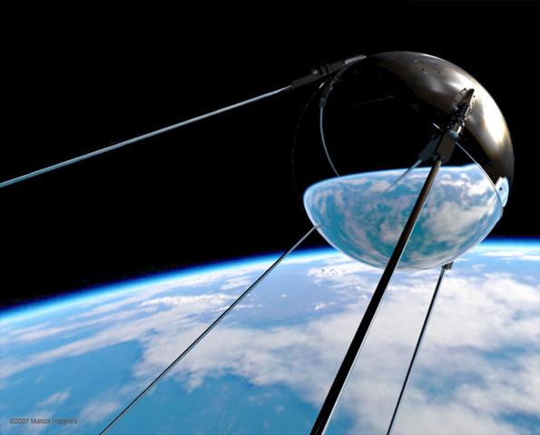 Launching of Sputnik