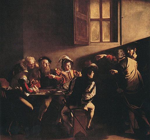 opera: La vocazione di San Matteo
