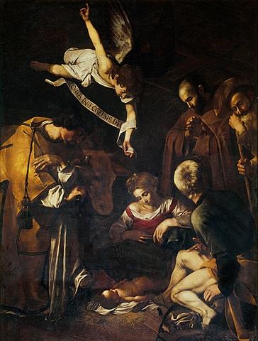 opera: Natività con i santi Lorenzo e Francesco d'Assisi