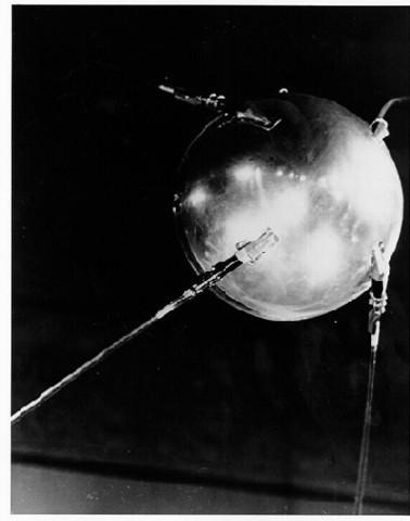 Lanch of Sputnik 1