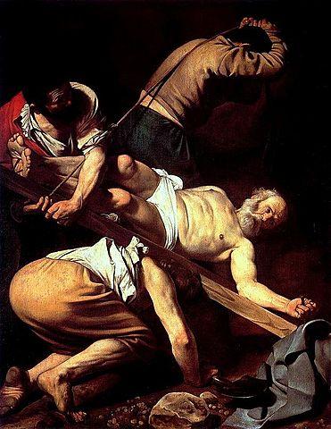 opera: Crocifissione di San Pietro