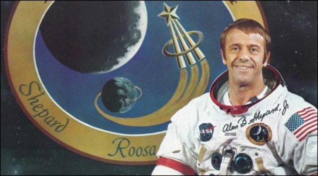 Alan Shepard becomes the first American in Space