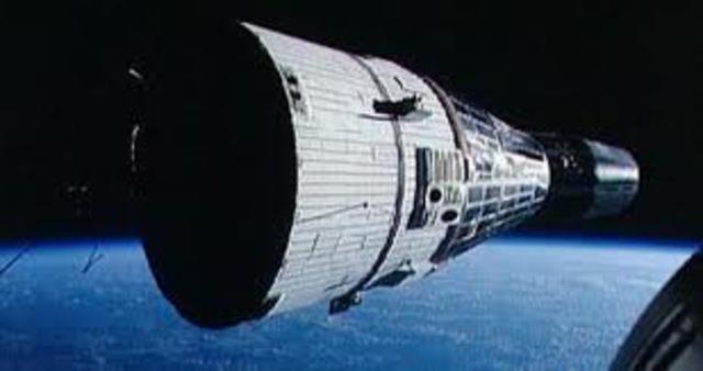 First Gemini Spacecraft