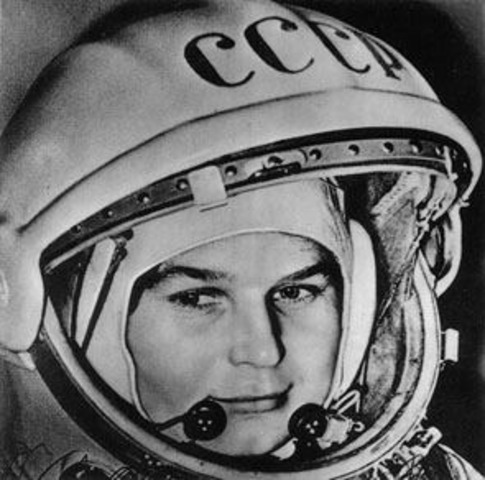 First Woman in Space