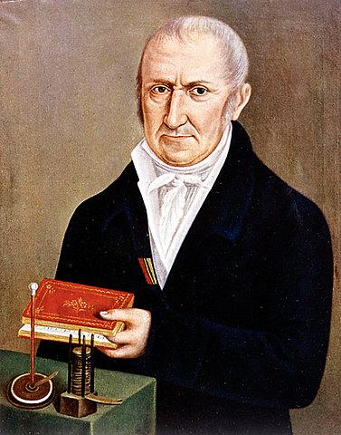 VOLTA inventa el método para generar electricidad