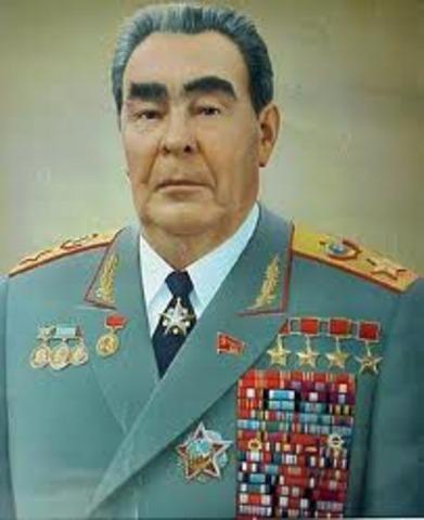 Brezhnev dies