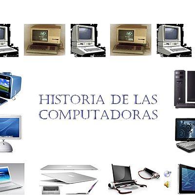 La historia de las computadoras timeline