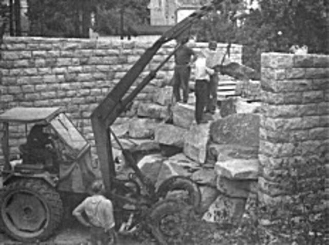 Errichtung Wolfsgehege
