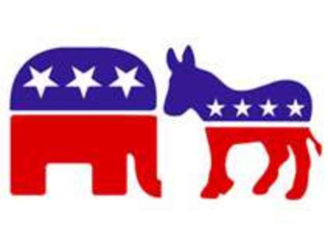 1945  3 democrats and 1 republican