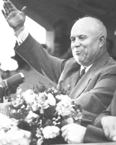 Nikita Khrushchev takes power