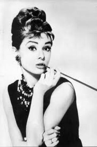Fashion by Audrey Hepburn in America 1945-1966