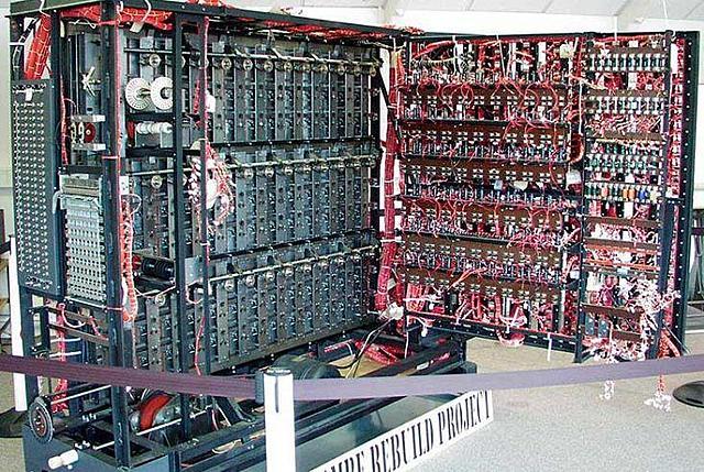 Máquina Bombe de Alan Turing