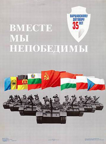 Warsaw Pact is formed